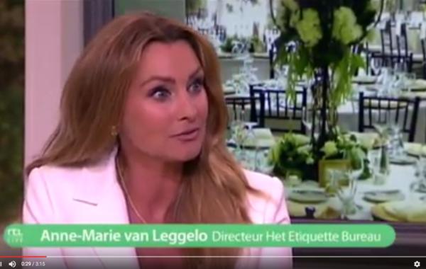 RTL LIVE – Nederlandse etiquette
