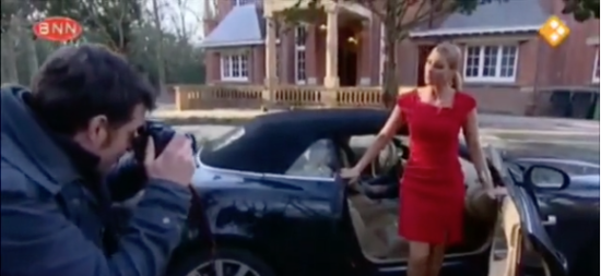 BNN, Week van Filemon. Hoe stap je elegant uit een auto?