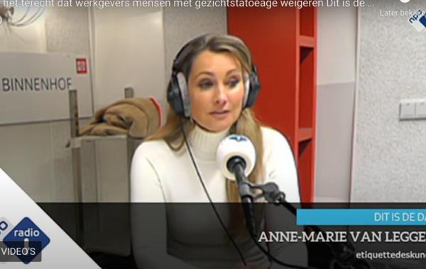Radiointerview Studio Binnenhof : Dag tattoo, hallo baan